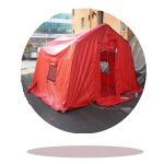 eartquake tents