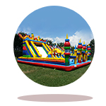 Giant Inflatable Playgrounds