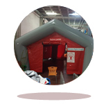 inflatable condolence tent