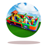 Middle Inflatable Playgrounds