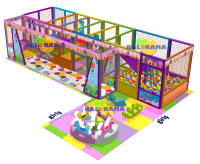 Colorful Softplay Indoor Playground 45m²