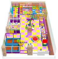 Full activity Softplay Playground 19x10m