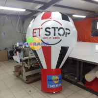 Inflatable Advertising Rooftop Balloon 2m