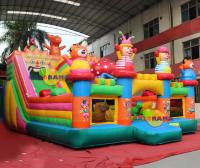 Inflatable Cute Monsters Play Park 9x6x5. 5m