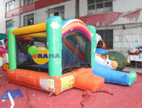 Inflatable Park Bouncy Balloon Pony 4x3.3x2.6h Mt