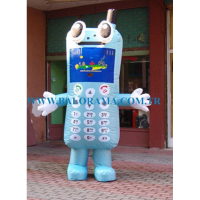Inflatable Phone Costume 3m