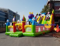 Inflatable Playground Domestic Dream Park 13x6x7h Mt