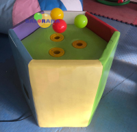 Softplay airball machine 76x70h cm