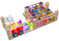 Softplay ball pool with activity 65 m²