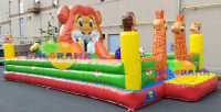 Tiger Inflatable Playground 10x5x3m