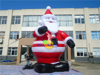 Inflatable Giant Santa Claus 8m