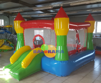 Inflatable Playground With Tower 2.8x3.9x2.2m