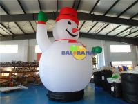 Inflatable Snowman 4m