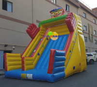 Magician Inflatable Slide 6x5x7m
