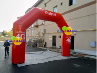 Printed Square Arch Balloon 6m
