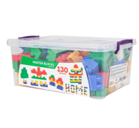 130 Pieces Colorful Game Blocks