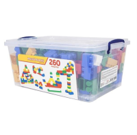 260 Pieces Colorful Play Blocks