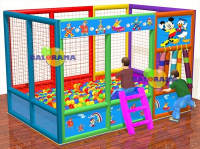 3x2x2m Clown Printed Ball Pool