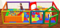 4x2x1m Indoor Playground