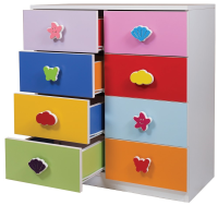 8 Drawers Rainbow Cabinet
