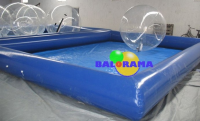 8x5m Inflatable Pool and 2 Pcs Pvc Water Ball