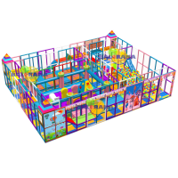 Activity Labyrinth Softplay Park 13x10x3m