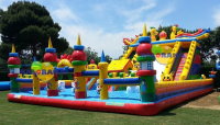 Adventure Castle Inflatable Playground 17x11x8m