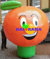 Advertising Balloon Orange