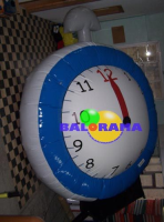 Advertising Balloons Clock