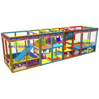 Alien Softplay Playground 8x2x2.5