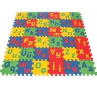 Alphabet Eva Floor Tiles 9mm 1m²
