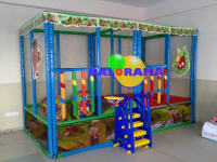 Ball Pool and Trampoline 4x2x2m