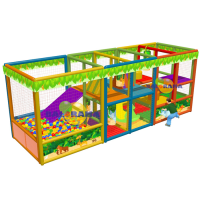 Ball Pool Forest 6x2x2.3m