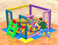 Ball Pool Slide with Bulk 160x160x100cm