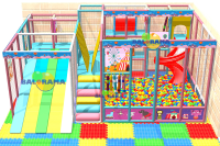 Ball Pool with Bead Slide 7x6x3m