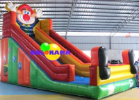 Clown Inflatable Slide 8x4x6m