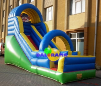 Clown Inflatable Water Slide 6x3x5m