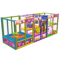 Clown Playground 6x2x2m