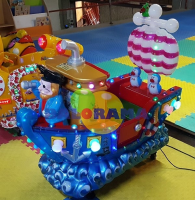 Coin Operated Toy Pirate Ship