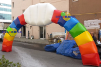 Colorful Arch Balloon 8m