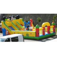Cute Mouse Inflatable Playground 8x5x3.5m