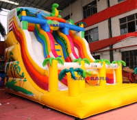 Dino Inflatable Slide 8x5x7m