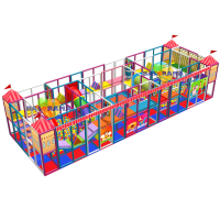 Dream Park Softplay Playground 15x5x3m