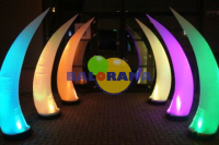 Ivory Led Lighted Balloon 2m