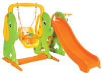 Elephant Slide and Swing Set