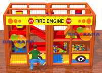 Fire Engine Soft Play Ball Pool