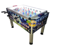 Foosball Table Team Fans Closed Circuit