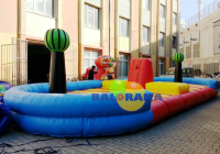 Fruit War Inflatable Playground