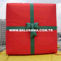 Giant Inflatable Gift Package 3m