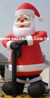 Giant Inflatable Santa Claus 6m